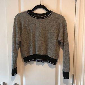 Zara Street Style Sporty Knit Top